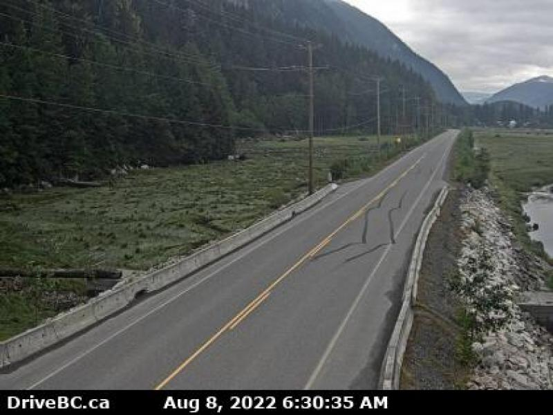 Stewart, BC Highway Cam - North