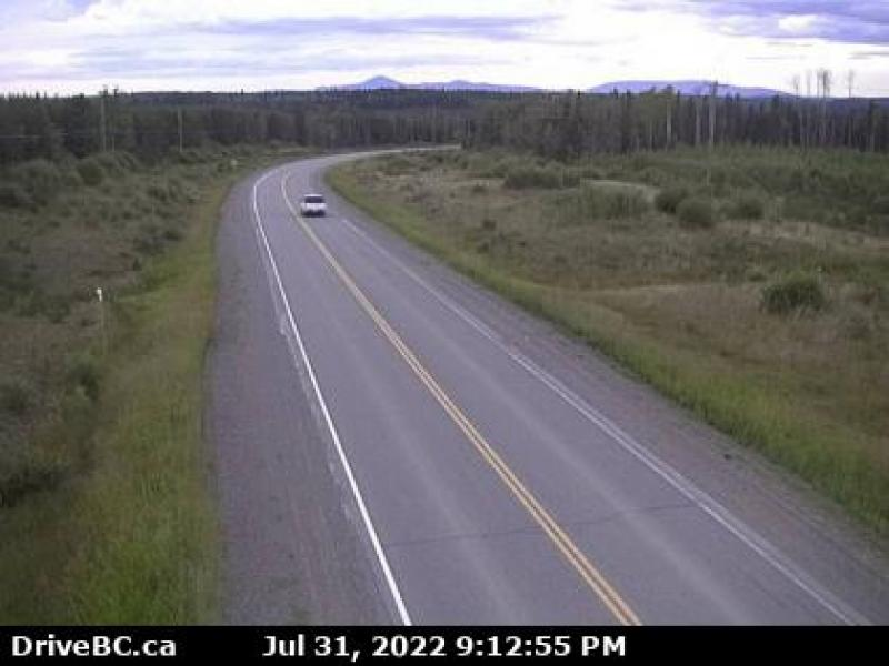 Fort St. James Highway Cam - North