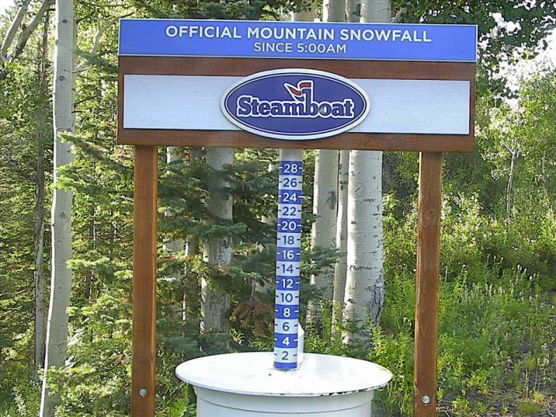NEW: Mid-Mountain Snow Stake