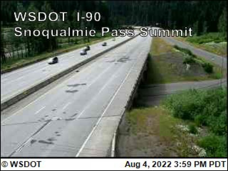 WSDOT - Snoqualmie Pass Summit